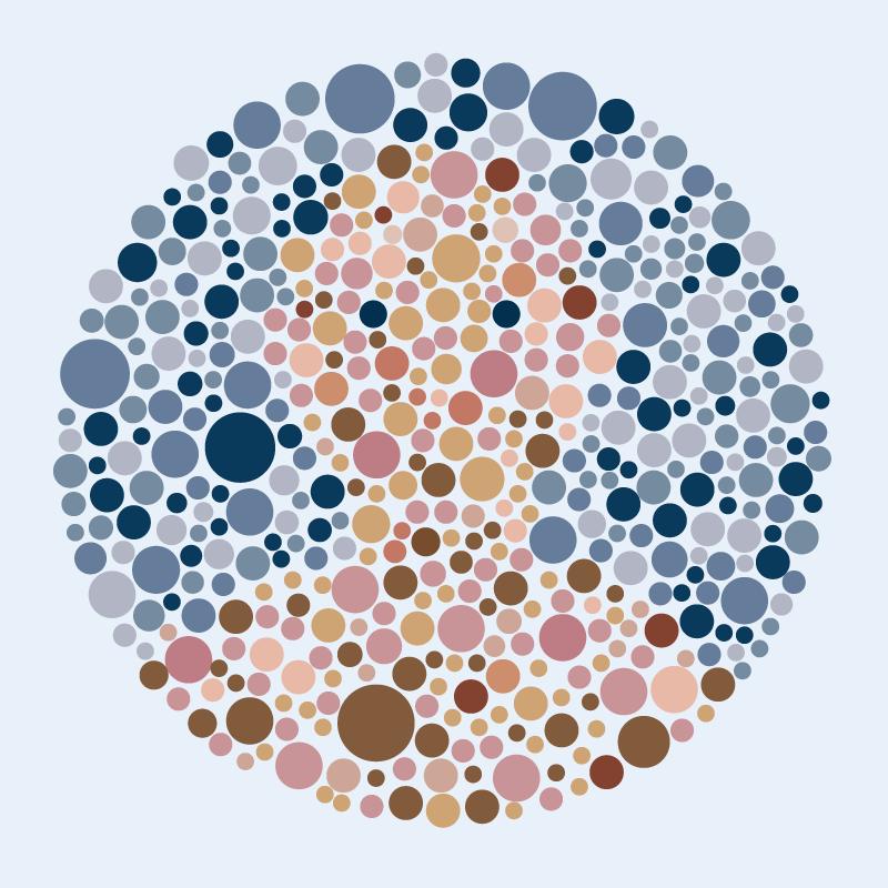 Politie-Kleurenblind